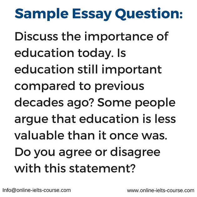Human Resource Management Essay Sample Ielts Essay Question Character Analysis Essays also Pros Of Abortion Essay Sample Ielts Essay Question  Ielts Online Preparation Course  Essay On Terrorism