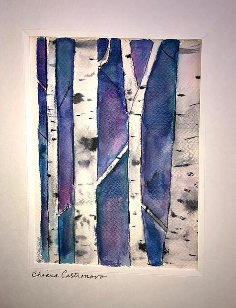 Chiara Castronovo watercolor