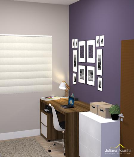 Closet com Home Office