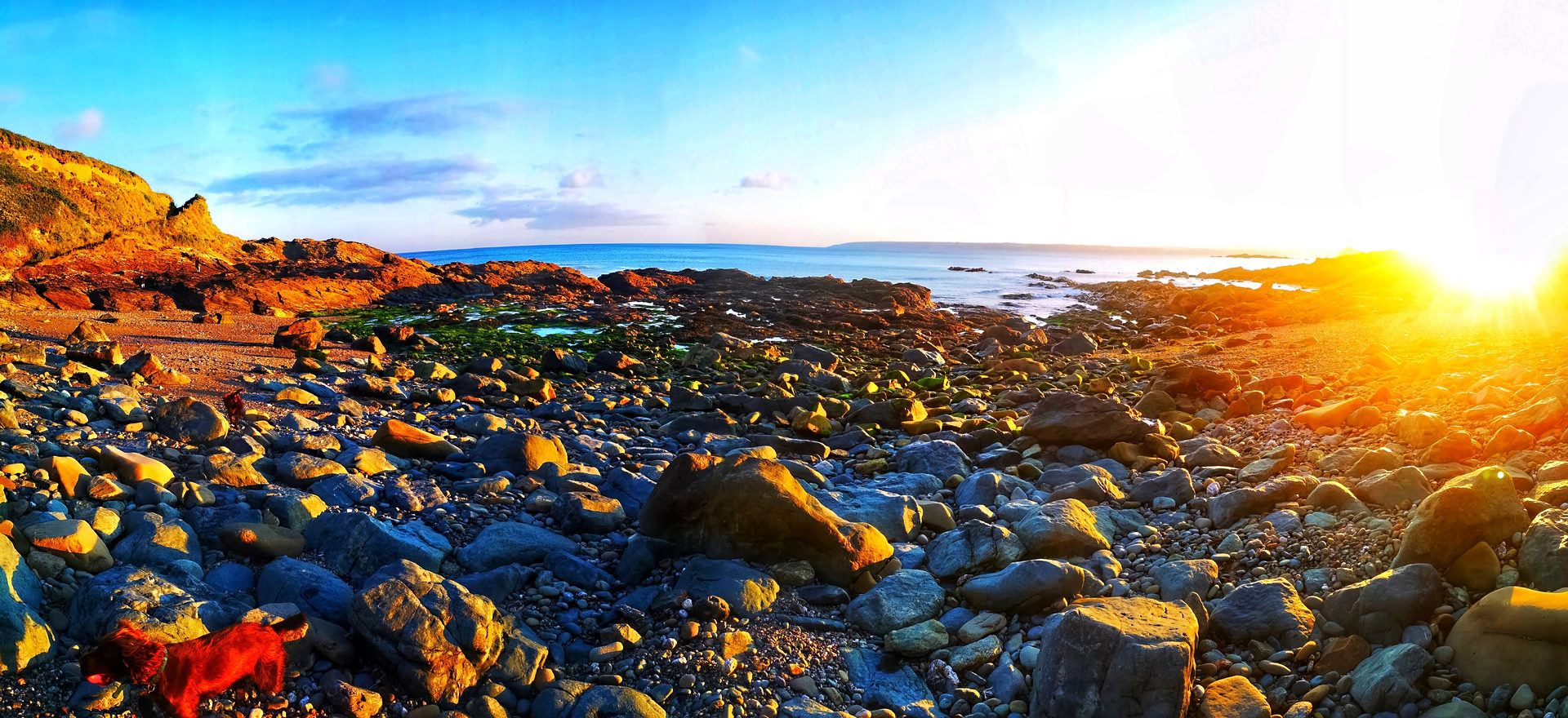 Cornish Sunset Landscape