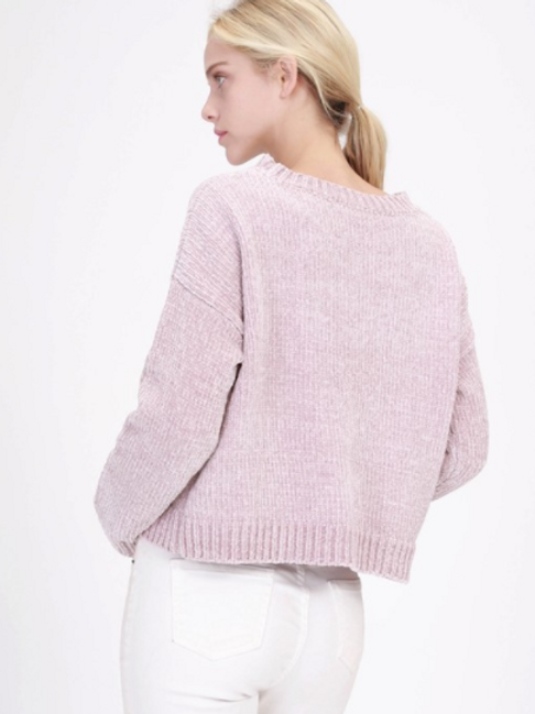 STEPHANIE KNIT PINK