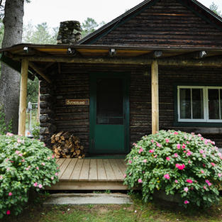 Rustic Enclosed Cabins with Private Baths