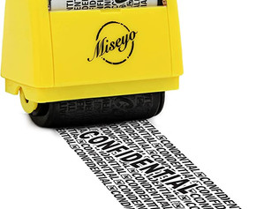 Miseyo Wide Roller Identity Theft Stamp