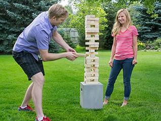 Yard Games Large Tumbling Timbers