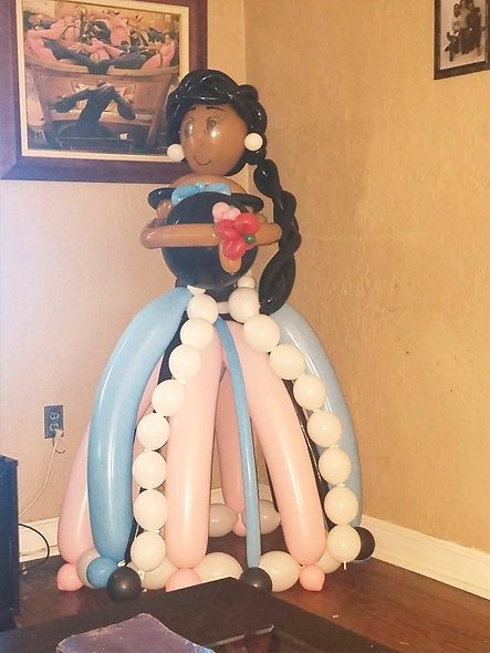 Gender Reveal Life Size Doll