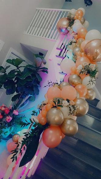 Organic Desginer Balloon Installation (8 ft and larger)