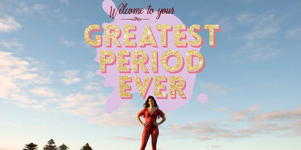 My Greatest Period Ever at the Festival of Dangerous Ideas, Lower Town Hall, Sydney