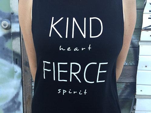 Kind Heart, Fierce Spirit Muscle Tank