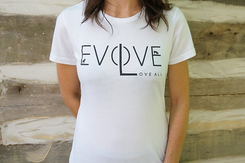 Evolve Love All T-shirt - Women
