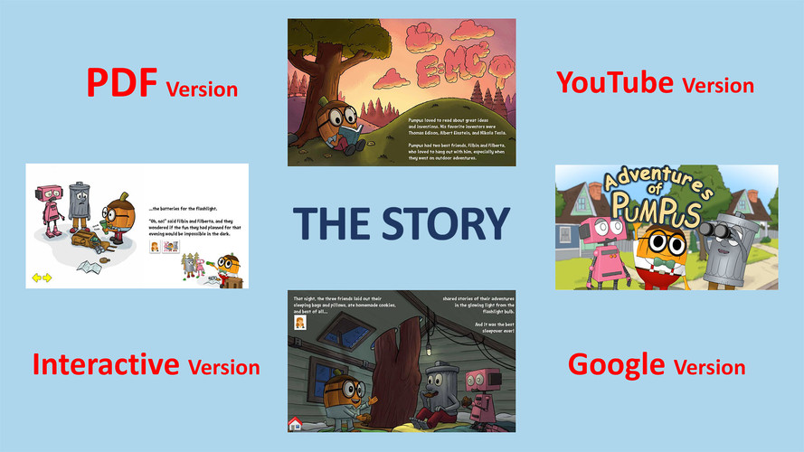 Boon-dah Learning System -Story formats