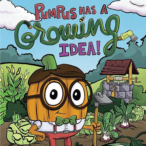 Pumpus has a Growing Idea Workbook and STEM Activities