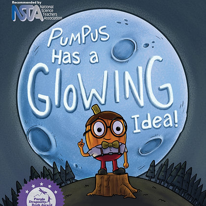 Pumpus has a Glowing Idea Workbook and STEM Activities