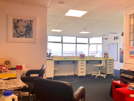 Hot Desk and Room Hire at Morecambe Lancashire
