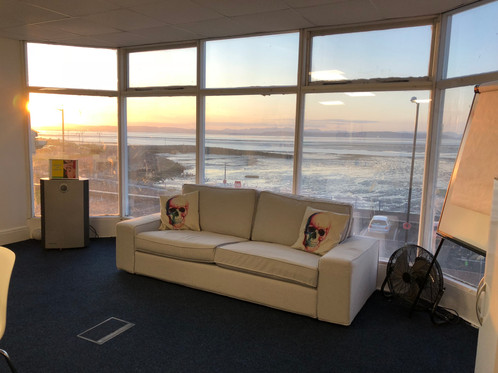 Our incredible views at Morecambe bay, Meeting and training room hire situated in Morecambe