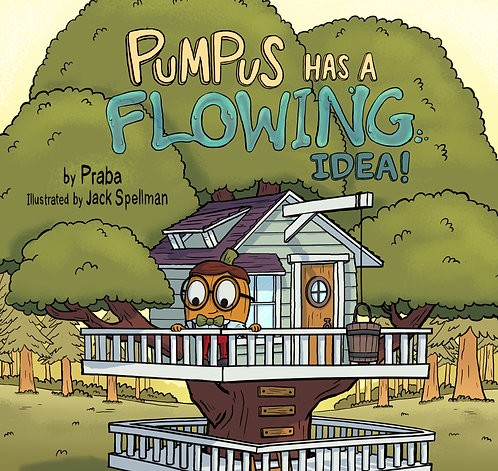Pumpus has a Flowing Idea Workbook and STEM Activities
