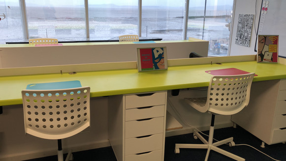High speed internet and dedicated working space for hire in Morecambe