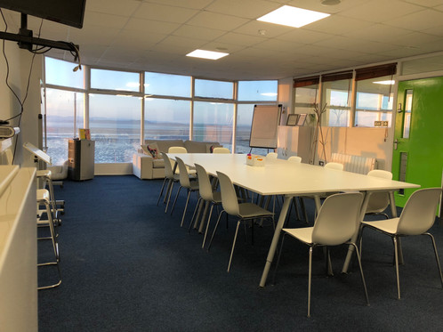 Seating 15 for board meetings and 30 plus for conferences, available to hire
