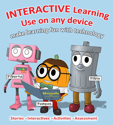 (Pumpus has a Flowing Idea) Interactive Story and STEM Activities bundle