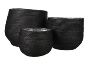 set of 3 bidkhome black baskets.png