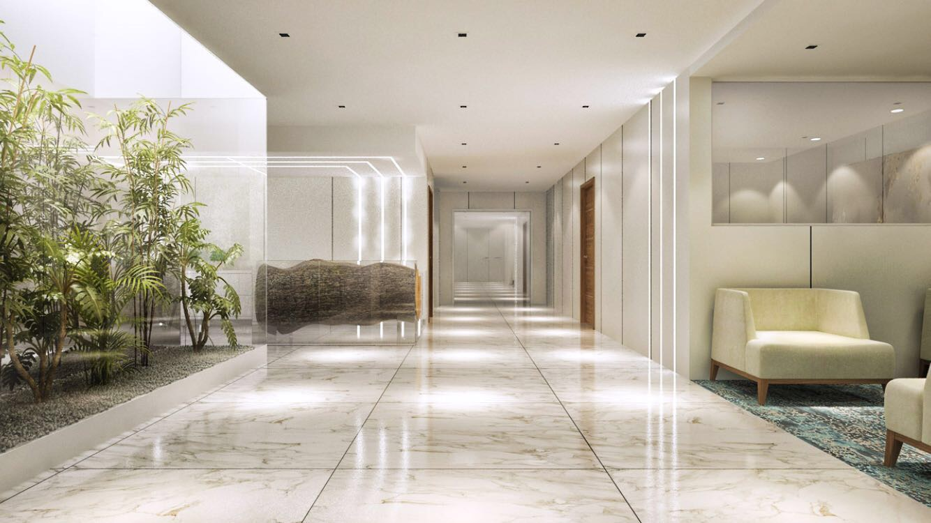 Nursing Home Lobby Design