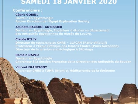 15e rencontre d'égyptologie de Nîmes