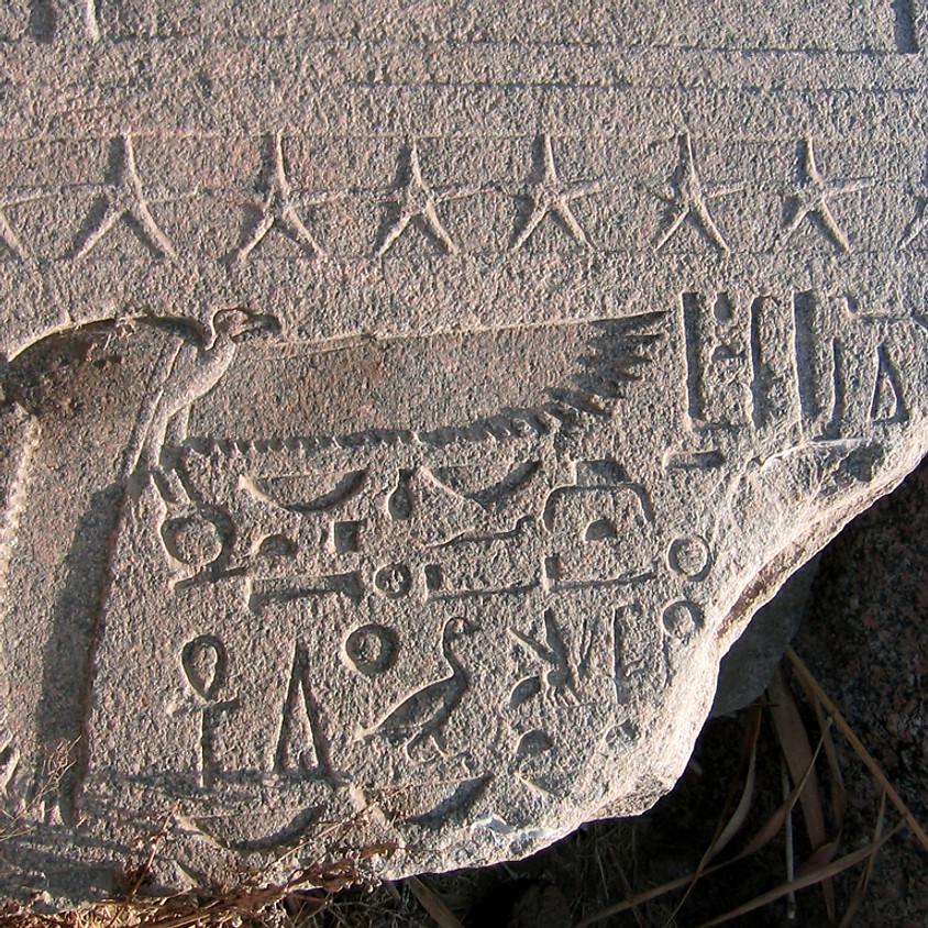 Atelier     Art et hiéroglyphes (dernière séance)