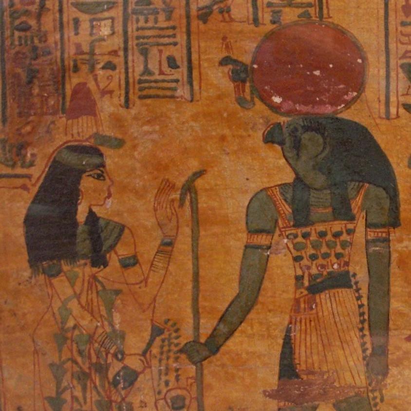 Visite de l'exposition : Servir les dieux d'Egypte. Divines adoratrices, chanteuses et prêtres d'Amon à Thèbes.