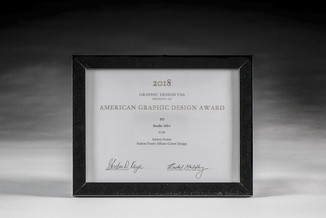 Graphic Design USA 2018 Award