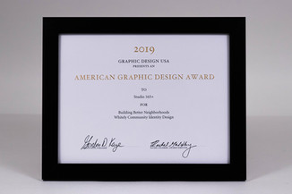 2019 American Graphic Design Awards