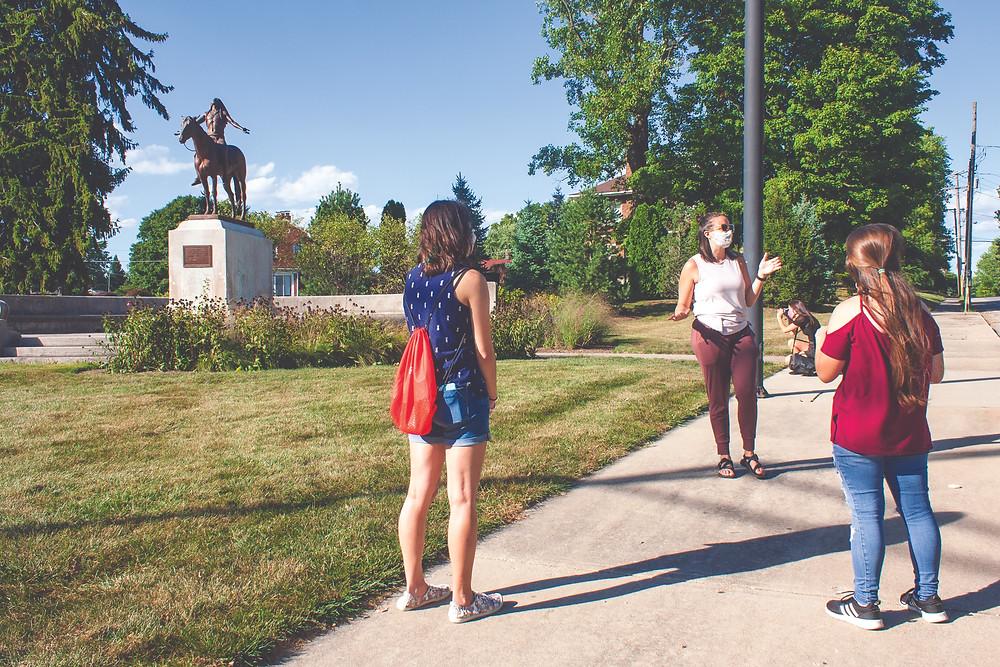 Minnetrista Central neighborhood visit, Fall 2020