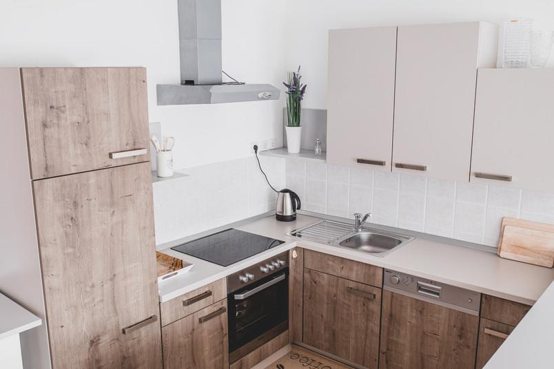 Airbnb modern kitchen in Zagreb