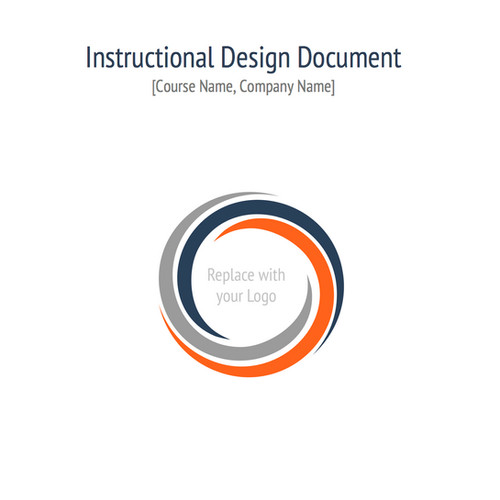 Instructional design templates instructional design central idc instructional design document template maxwellsz