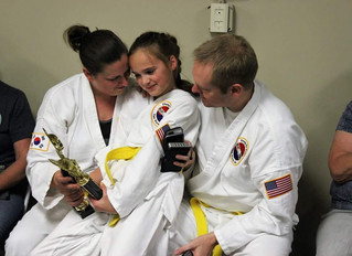 Helping Your Child Find Success on the Training Floor and Life