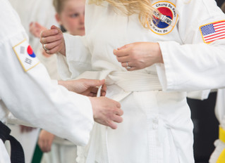 Behave like the person you intend to become! Becoming a black belt in life.