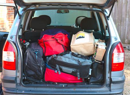 Sua inocente mochila pesa mais de 100 kg a 60 km/h