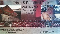 Triple S Paracord Tack