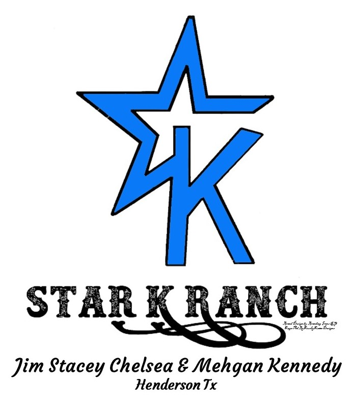 Star K Ranch Brand Blue