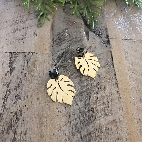 Gold Leaf-black