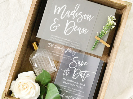 Wedding Invitation Cards by Basic Invite