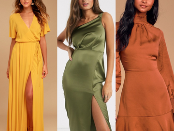 Fall Wedding Guest Dresses