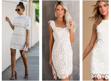 White Dress Roundup: Spring Edition
