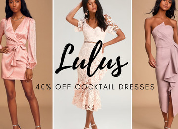 Lulus Cocktail Dresses