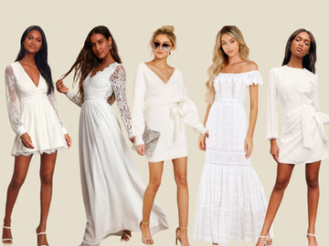 White Dresses for Fall