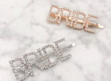 Tip Tuesday: 5 Ways to Wear Bridal Barrettes