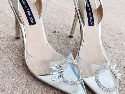Get the Look: Clear & Crystal Heels