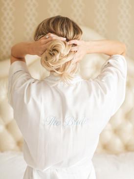 White Bridal Robes