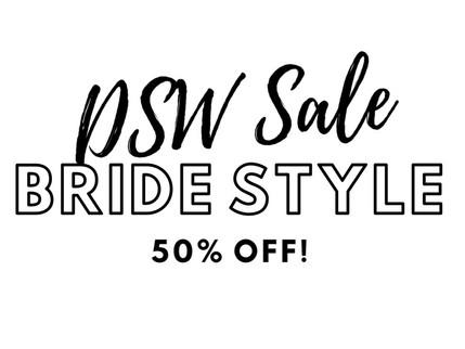 DSW 50% off sale!