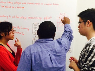 High school students are joining Chi Hack Night to train in user experience & design