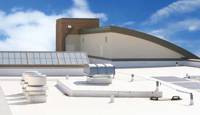 Flat roof or multi roof