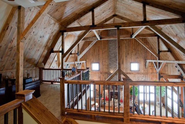 gambrel shaped roof
